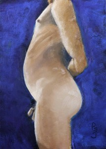 Oil 2016 Male Nude