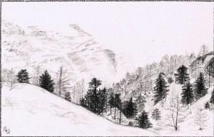 Charcoal 2012 Zermatt