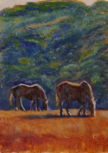 Oil 2016 San Antonio Horses