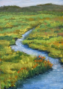 Oil 2018 Shollenberger Marsh